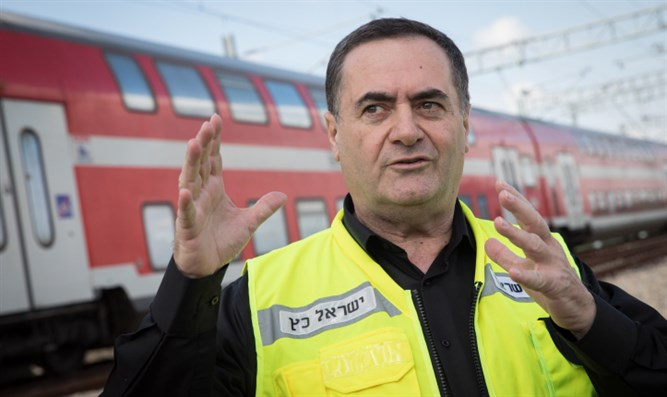 Yisrael Katz discusses opening of new Jerusalem - Tel Aviv train