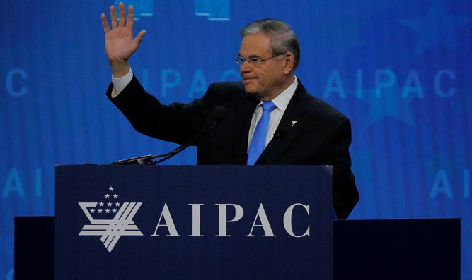 Bob Menendez speaks at 2018 AIPAC conference