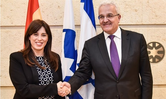 Hotovely with Spanish Secretary of State