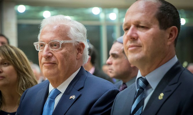 David Friedman and Nir Barkat