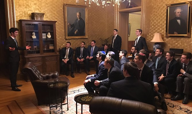 Yeshivat Hakotel students visit the White House