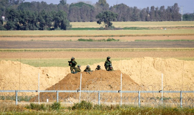 IDF forward observers to Gaza riots