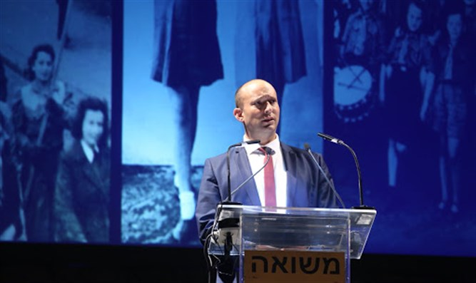 'Israel will always defend itself by itself.' Naftali Bennett.