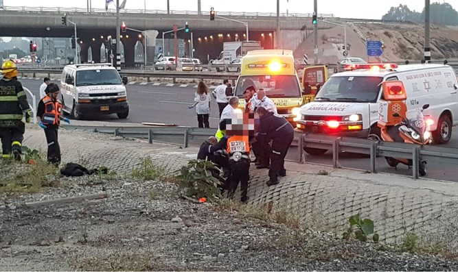 Six injured in accident south of Jerusalem