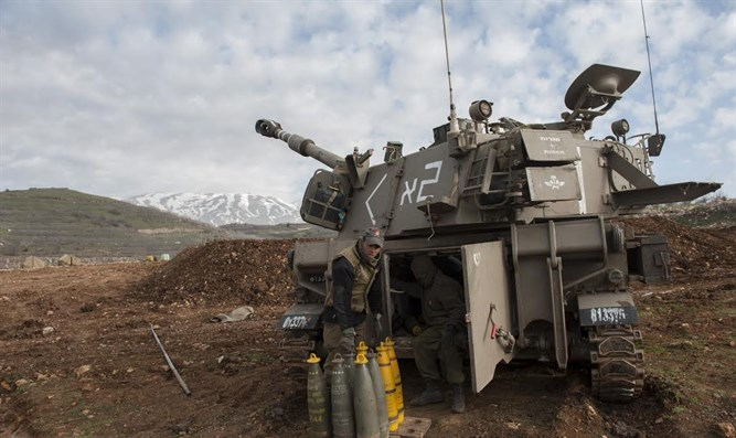Israeli artillery preparing to strike back into southern Lebanon