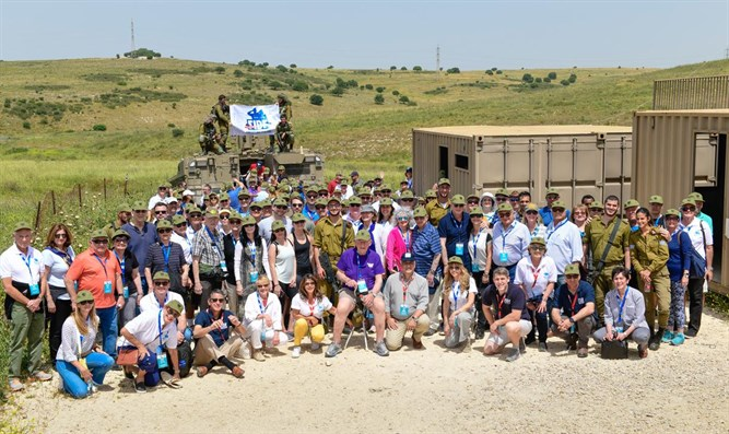 FIDF with Golani Brigade soldiers