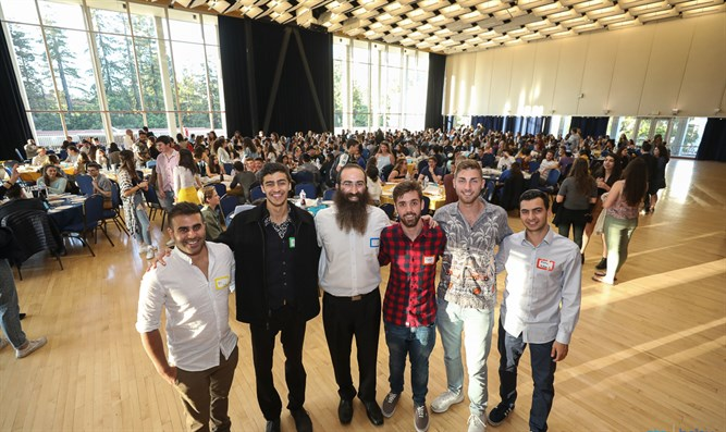 Chabad brings IDF wounded to US campuses