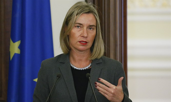 EU High Representative for Foreign Affairs Federica Mogherini