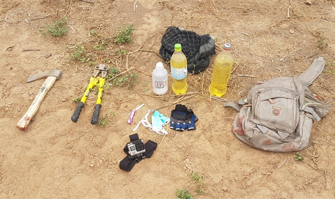 the items seized from the terrorists