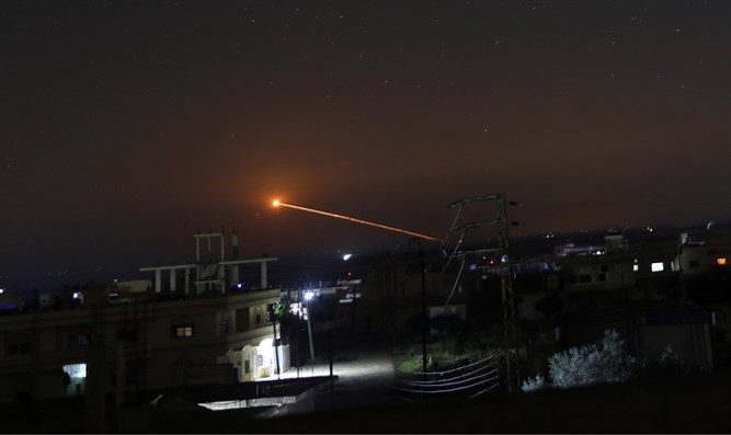 Report: Israel attacked in Syria