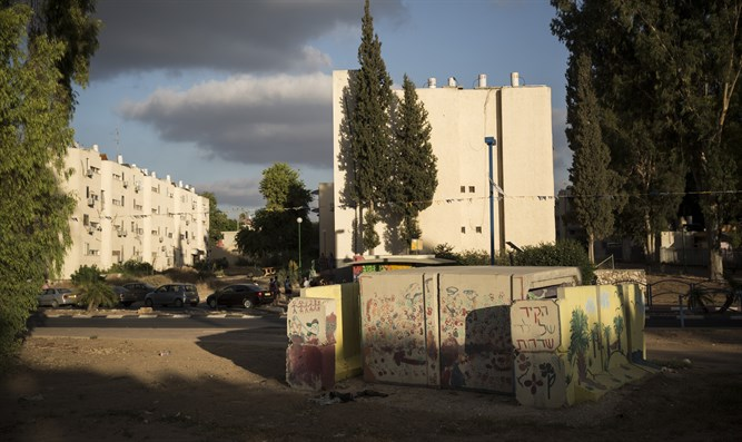A neighborhood in Sderot (archive)