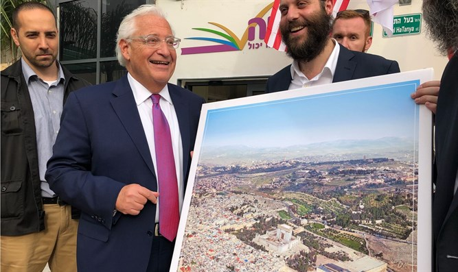 David Friedman with the controversial photo
