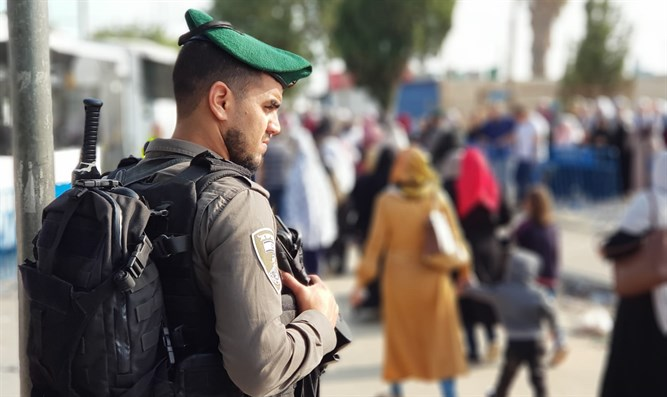 Border Policeman in Jerusalem