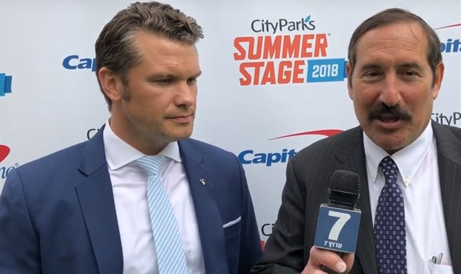 Joe Frager and Pete Hegseth