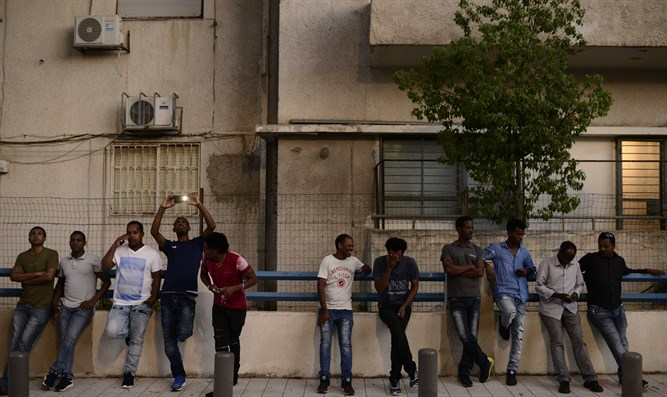 South Tel Aviv: Eritrean civil war battleground