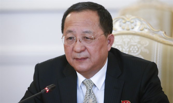 North Korean foreign minister Ri Yong Ho