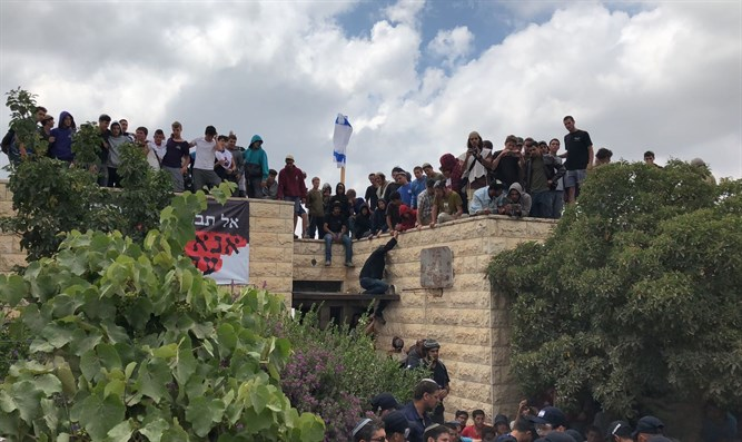 Protests in Netiv Ha'avot