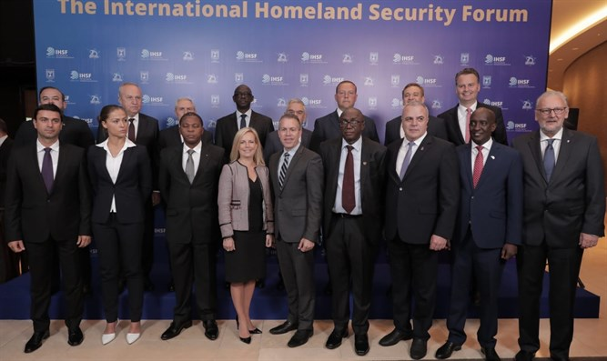 International ministers and Minister Gilad Erdan