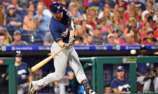 Ryan Braun hits his second home run of the game