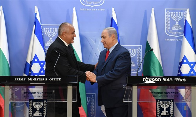 PM Netanyahu and PM Borissov