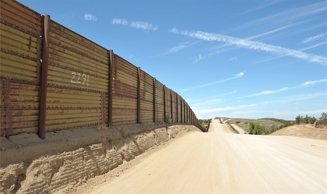 California-Mexico border