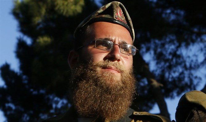 Haredi soldier (illustrative)