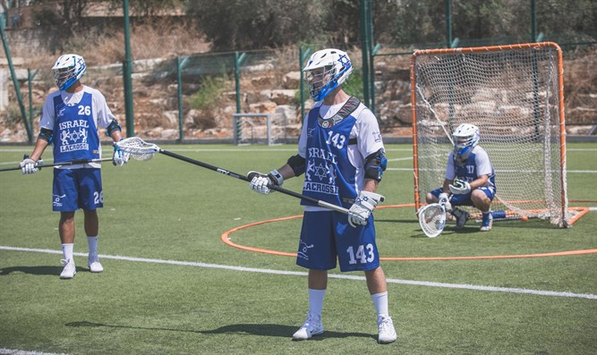 Players of the national Lacrosse team of Israel