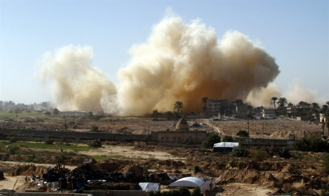 Explosions in Sinai near Gaza border (archive)