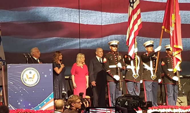 US Independence Day celebration in Jerusalem