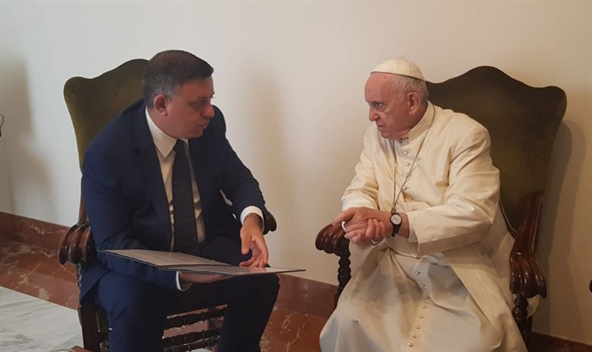 Gabbay and Pope Francis