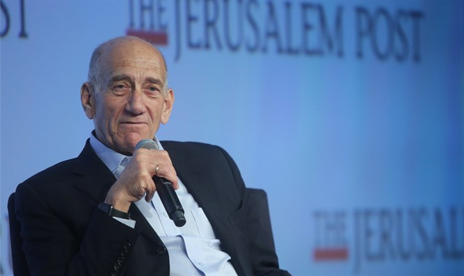 Olmert: Netanyahu won't be PM, I'll vote for Blue and White