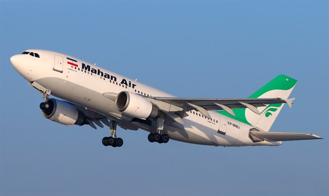 Mahan Air airplane