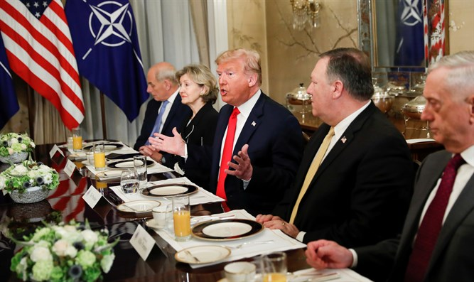 Trump puts it to NATO