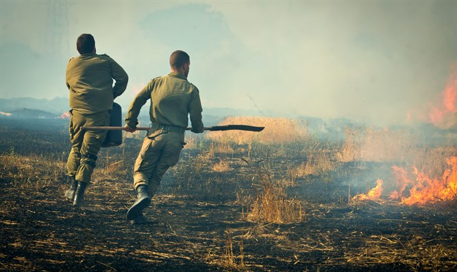 Rushing around putting out fires; Gaza