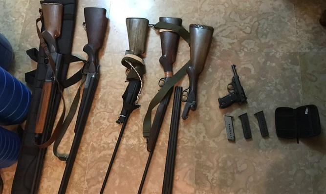 seized hunting weapons