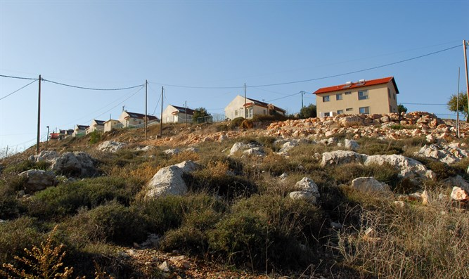 View of Yitzhar from below