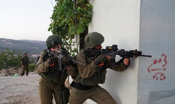 IDF forces in Kobar