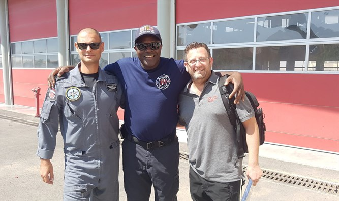 Firefighters from the United States volunteer in Israel