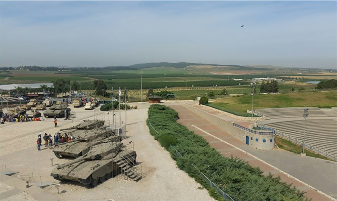 The tank museum in Latrun