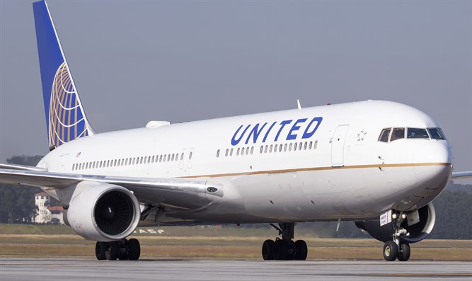 Boeing 767-400 of United Airlines