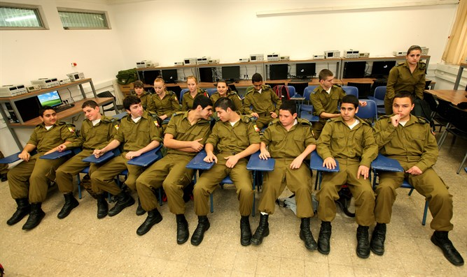Who will teach them? IDF cadets