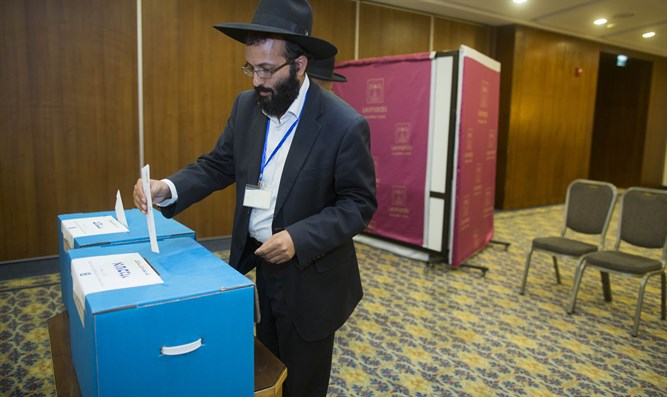 Casting vote in elections for new Rabbinate Council