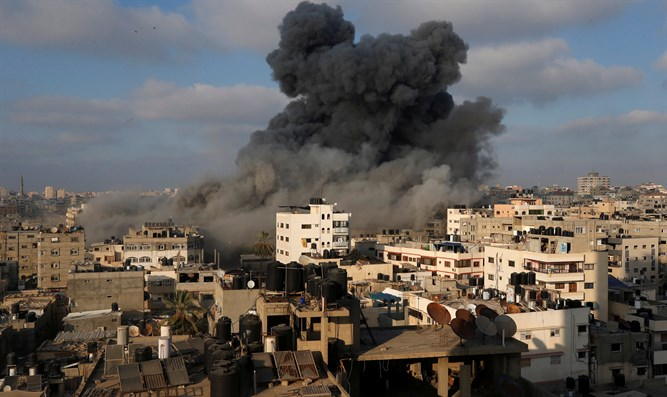IDF attack on gaza