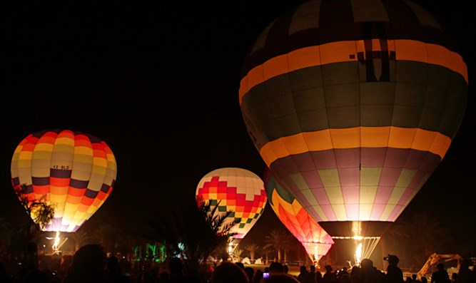 Archive: Hot-air balloons in the Negev