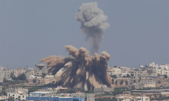 IAF airstrike on Gaza (archive)