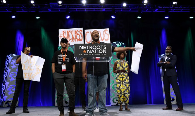 Black Lives Matter Houston head speaks at Netroots Nation conference