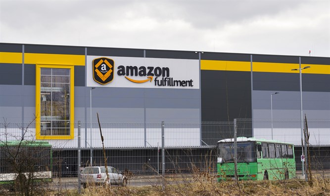 Amazon logistics center