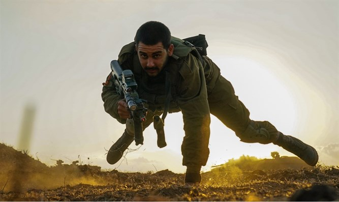 Golani soldier training