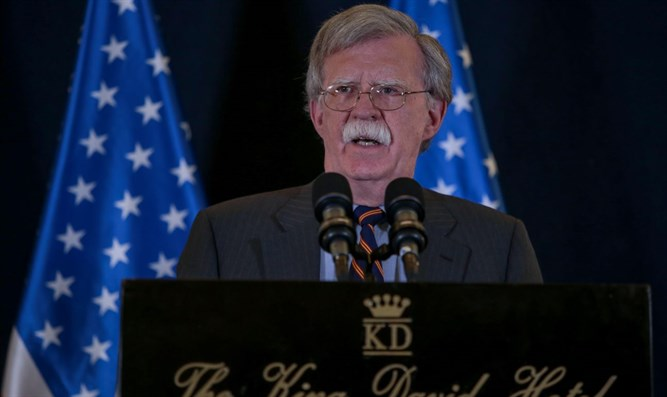 John Bolton at King David Hotel