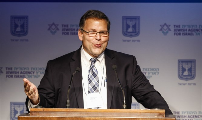 Jerry Silverman, at 2013 GA in Jerusalem
